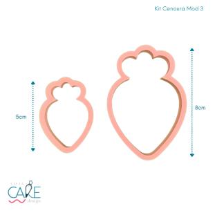 KIT CENOURA MODELO 3 - (2 PEÇAS) - LOJA CAKE DESIGN