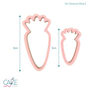 KIT CENOURA MODELO 2 - (2 PEÇAS) - LOJA CAKE DESIGN